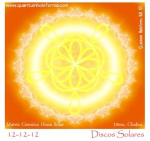 12 matriz cosmica diosa solar