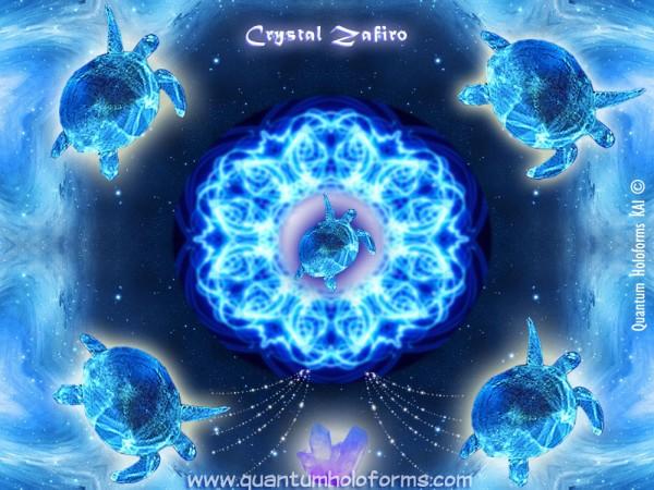 crystal zafiro