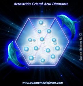 activacion cristal azul diamante